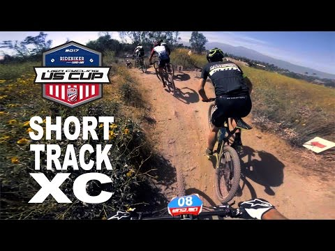 A very short Short Track XC race at the 2017 US Cup in Fontana California