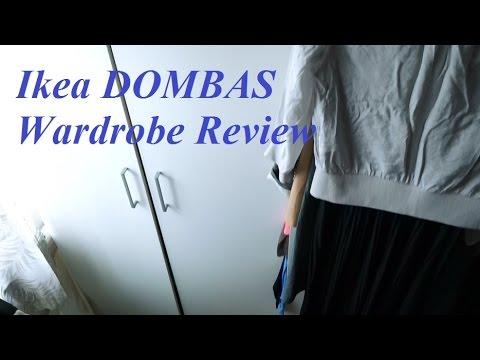Review Ikea Dombas Wardrobe Youtube