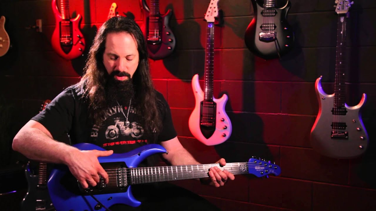 john petrucci and the music man majesty guitar official youtube