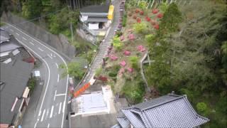 高塚愛宕地蔵尊上空写真