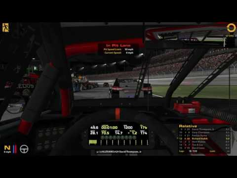 NASCAR iRacing Series 2016 Week 18: Kentucky