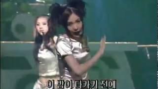 베이비복스 (Baby V.O.X) - Get up (인기가요 1999.07.25)