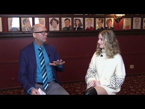 Jackie Evancho Backstage with Richard Ridge of Broadway World