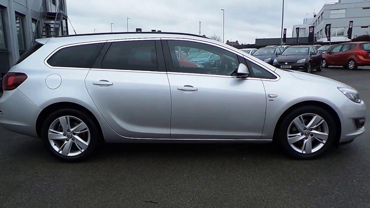 Vauxhall astra gtc 1 6t sri auto express - 2014 64 Vauxhall Astra 2 0 Cdti 16v Sri Sports Tourer Estate Auto In Silver