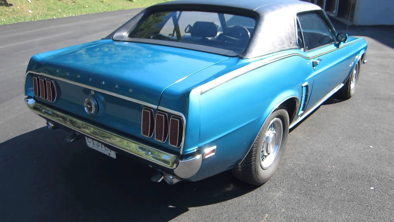 1969 ford mustang grande coupe sold