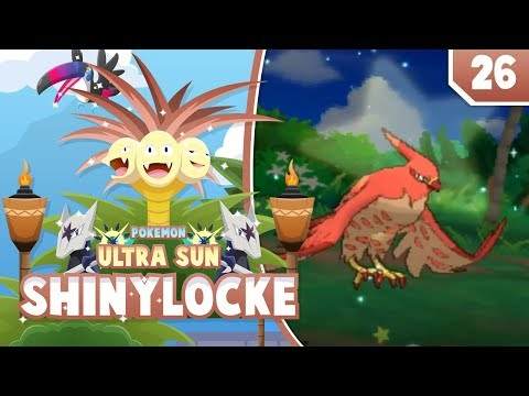 CARRY ME, FAWKES!! Pokemon Ultra Sun and Moon ShinyLocke Let's Play w/ aDrive! Ep 26