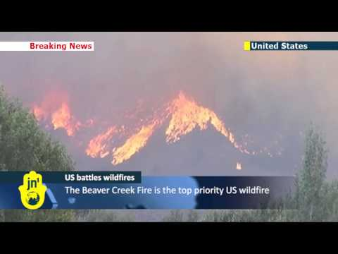 Flames force evacuations in Idaho: Utah homes destroyed by wildfires stoked by strong winds