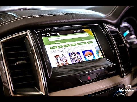 Review! ใหม่สุด! พี่ลูกค้า Happy Ford Everest Sync3 Android Touch🌐 Interface หยุดโลก by Mirage