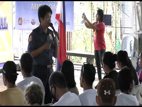 Over 800 residents, drug surrenderers in Tanay, Rizal benefit from UNTV medical mission