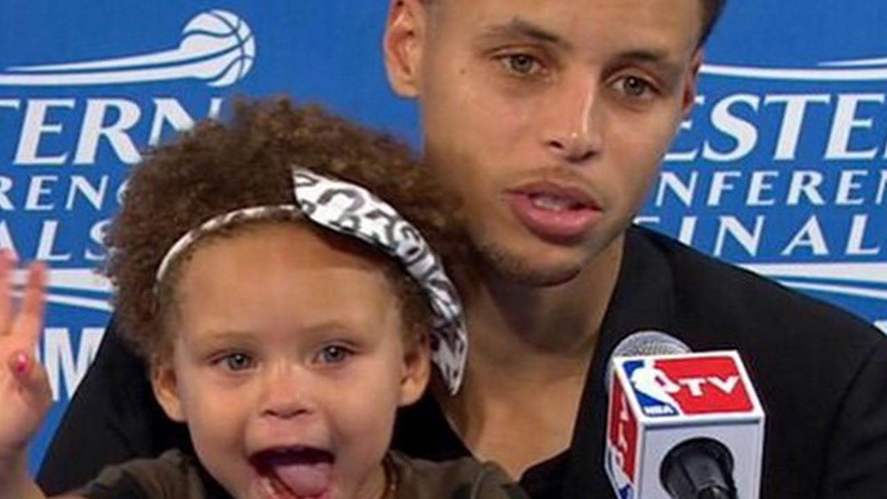 DAUGHTER, RILEY CURRY, GOT HER NAME