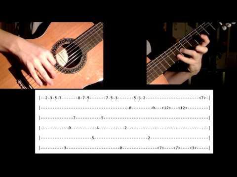 Für Elise - Guitar Tabs (Short Version)