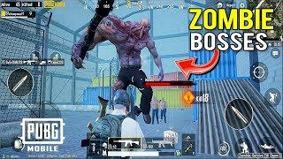 PUBG Mobile Update 0.13.0 New Zombie Boss Gameplay I Pubg Mobile X Godzilla