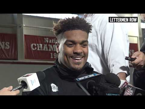 Dre'Mont Jones: Ohio State defensive tackle talks about Nick Bosa - October 17, 2018