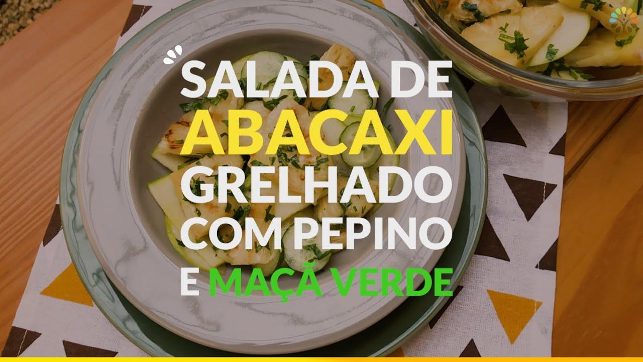 Salada de Abacaxi Grelhado