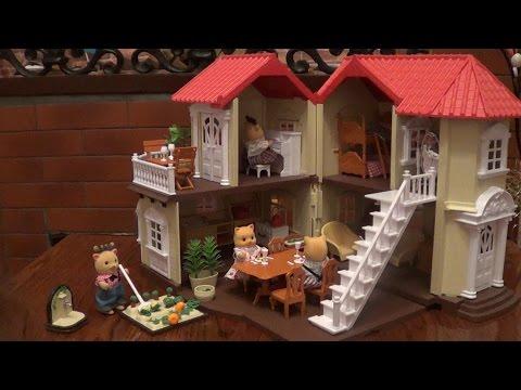 меблируем домик Сильвания Фемили и заселяем семьи