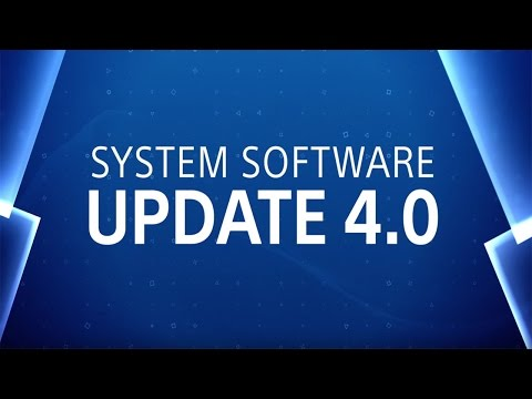 PS4 System Software Update 4.00 Features Trailer