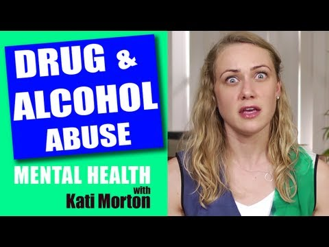 Alcohol and Drug Abuse in relation to ED & SH. Mental Heath Videos with Kati Morton