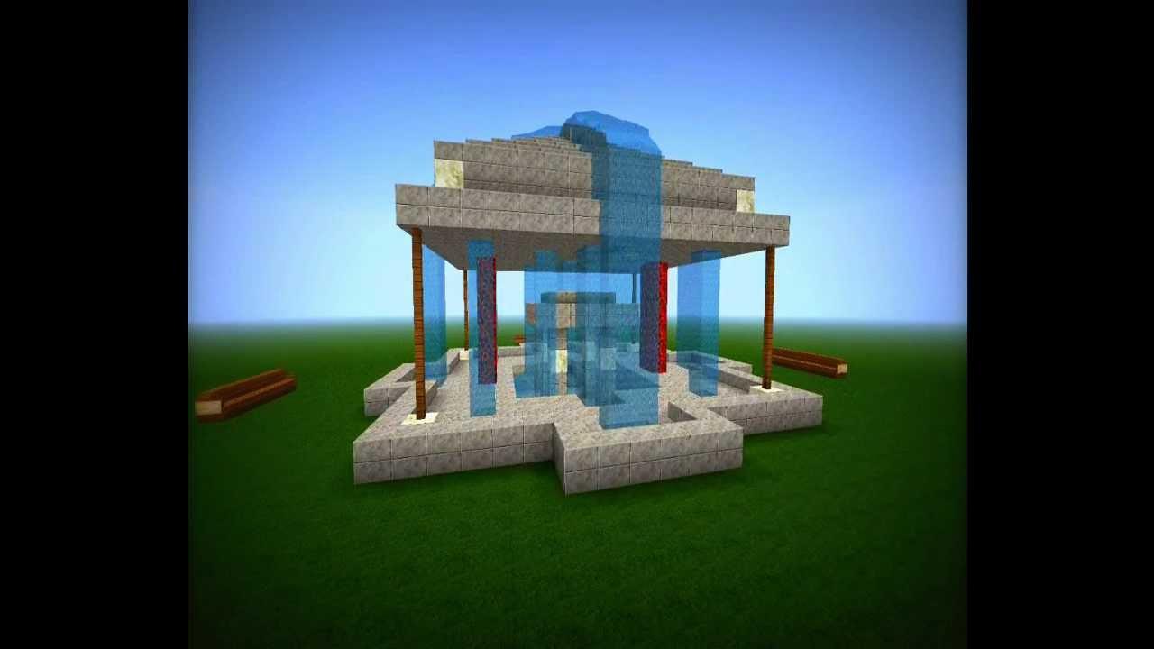 Minecraft Brunnen YouTube - Minecraft hauser verschonern