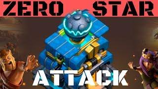 ZERO STAR ATTACK ! Cwl Big Fails Attack 2019 / 0 Star Attack Strategy 😂 / Clash Of Clans Attack
