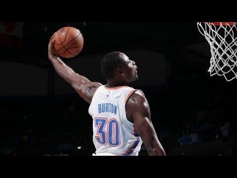Deonte Burton Is An NBA G League/NBA HIGHLIGHT MACHINE! Best Plays With OKC
