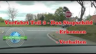 Vorfahrt Teil 2 - Das Stopschild - Fahrstunde - Prüfungsfahrt