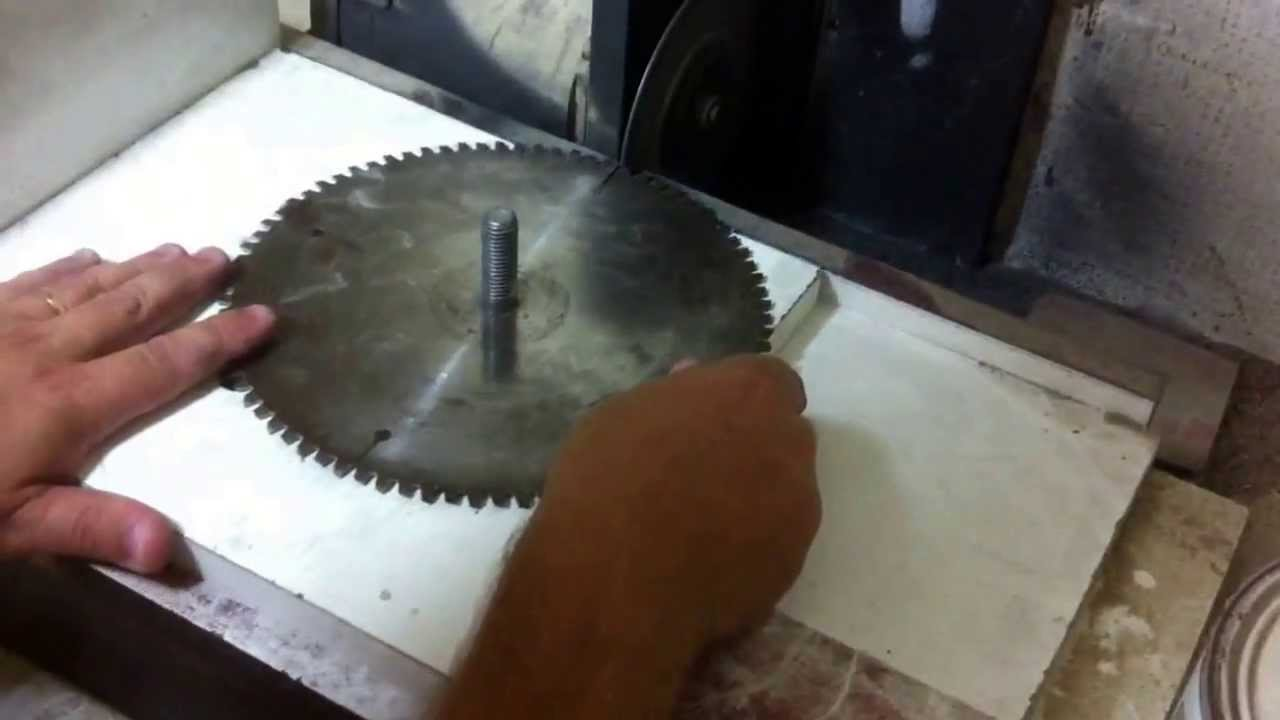 Homemade Tablesaw Blade Grinder 2 Youtube