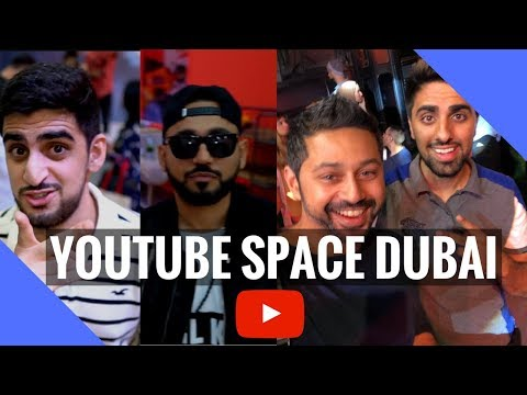 Youtube Space Launch Party in Dubai!