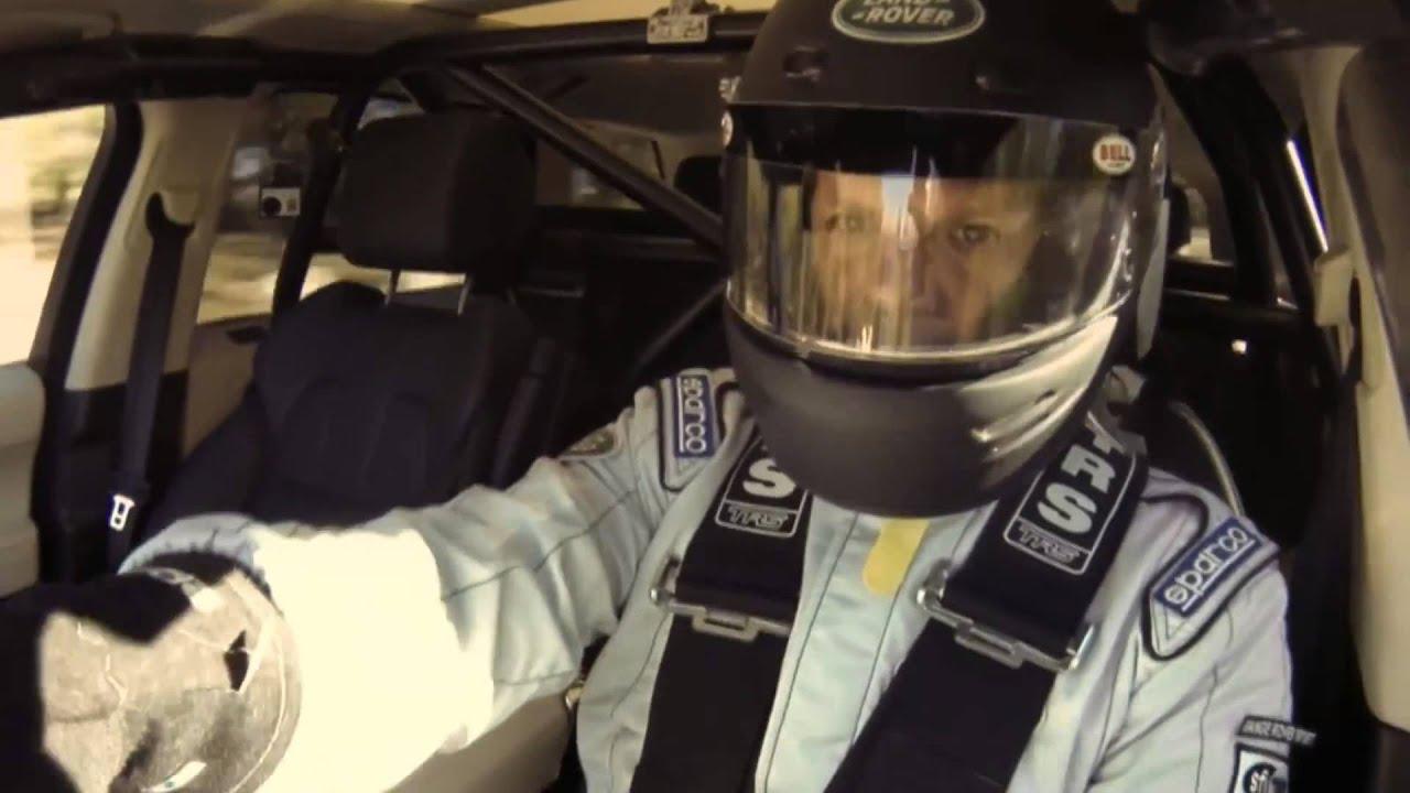 All new Range Rover Sport Pikes Peak Driven Challenge Trailer
