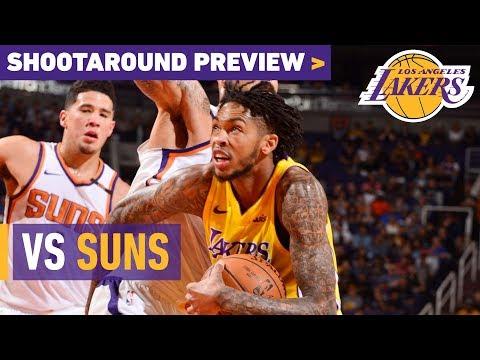Shootaround Preview: Suns (11/17/17)