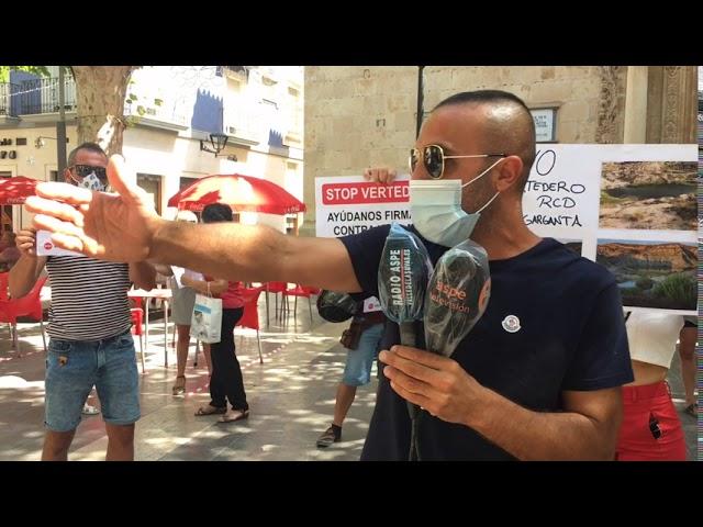 Manifestación vecinos afectados del Tolomó 2020 #Aspe