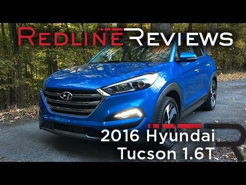 2016 hyundai tucson 1 6t redline review youtube. Black Bedroom Furniture Sets. Home Design Ideas
