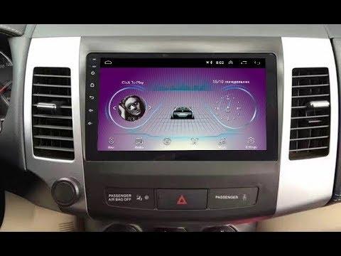Штатная магнитола Mitsubishi Outlander II (2006-2012) Android TA082