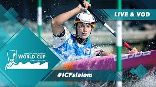 2021  CF Canoe-Kayak Slalom World Cup Markkleeberg Germany Canoe Semi-finals