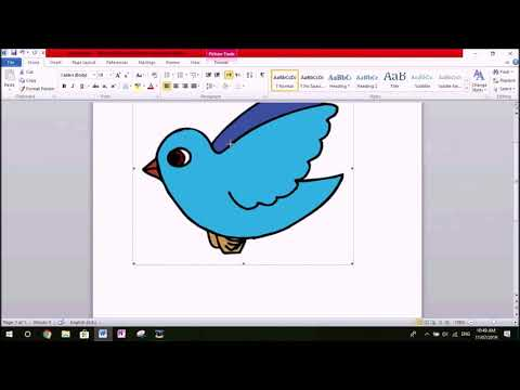 How To MOVE An Image Inside MS Word!