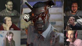 """Реакции Летсплейщиков"" на Убийство Копа из Resident Evil 7"