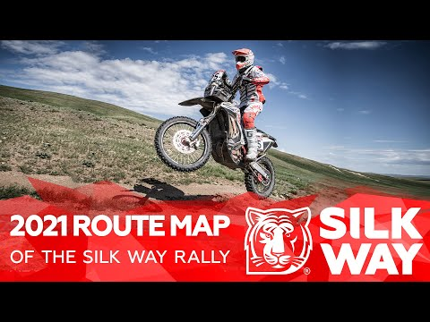 2021 Route Map   Silk Way Rally