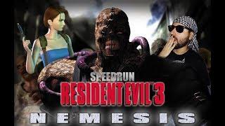 Resident Evil 3: Nemesis Dificultad Dificil (Speedrun Any%) Nuevo PB 44:22