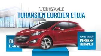 Auto-Kilta Mikkeli Hyundai ja Isuzu avajaiset 17-20.10.2013