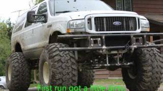 Part 1 of biulding ford Excursion on 49s.