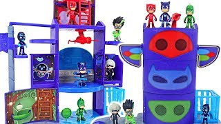Transformation base is broken! PJ Masks New Mission Control HQ Playset upgrade! #DuDuPopTOY