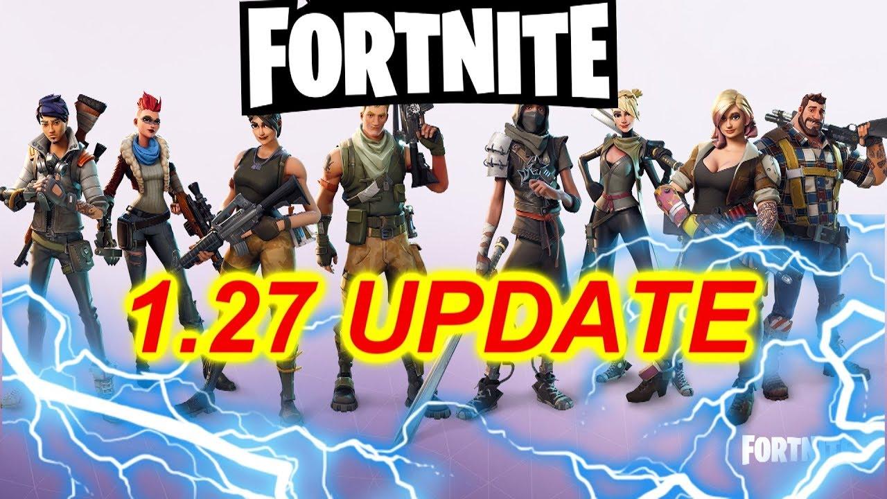 fortnite latest update ps4