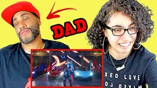 MY DAD REACTS TO Lil Pump - &quotButterfly Doors&quot (Official Music Video) REACTION