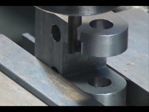 Carriage Stop Body Part Five, Cutting the Index Mark and Final Machining