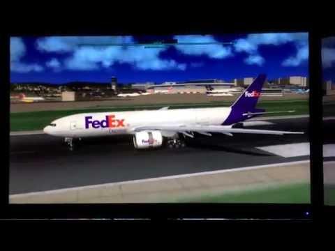 777 Landing at LSZH