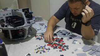 Lego Star Wars - Death Star Build - Time-lapse - Phase 10