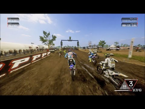 MXGP 3 - The Official Motocross Videogame Gameplay (PS4 HD) [1080p60FPS]