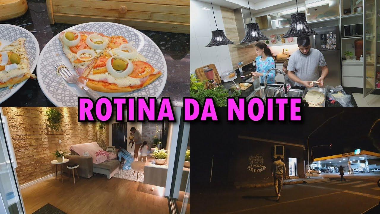 MINHA NOITE + FOMOS NA PADARIA + PIZZA + NOITE DE FILME + BRIGADEIRÃO  DE LEITE NINHO #FAMILIAPIROLO
