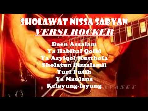 Nissa Sabyan Sholawat Versi Rock ~ buat hati sejuk dan bersemangat