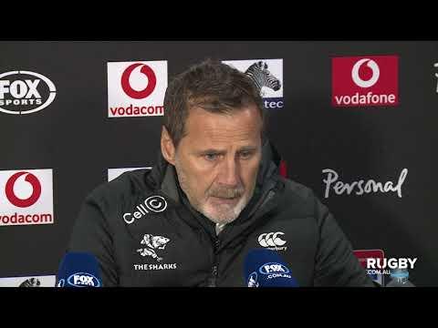 Super Rugby 2019 Quarter-finals: Sharks press conference