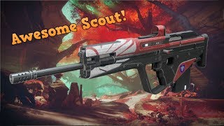 DESTINY 2: Does Not Compute Awesome Legendary Scout Rifle In Depth Review! (d2 gameplay)